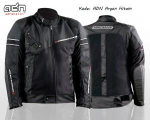 Jaket Motor Touring Bikers ADN-Argon-Baru-Hitam