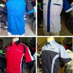 Baju Kemeja Seragam Sporty