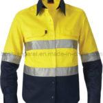 Baju Seragam Ber Reflector Kualitas Kuning