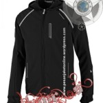 Jaket Lapangan Harian Windproof with reflectiv