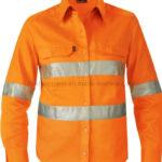 Baju Lapangan Safety Orange