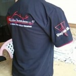 Kaos Kerah Logo Bordir Komputer