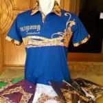 Kaos Motif Batik Berkerah