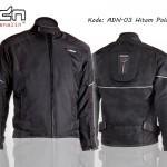 Jaket Motor Touring adn-03-hitam-polos