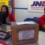 Kirim Jaket Kantor pesanan Smartfren Jakarta via JNE