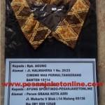 Kaos Kerah Batik ke Tangerang Banten