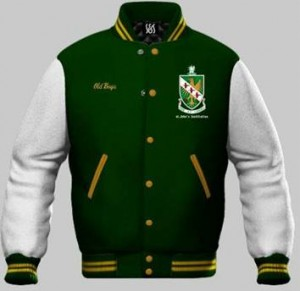 Gambar Varsity Jacket Bahan Fleece