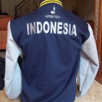 Jaket Baseball Bordir INDONESIA