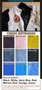 katalog fleece BAHAN JAKET VARSITY