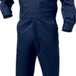 wearpack coverall polos biru dongker